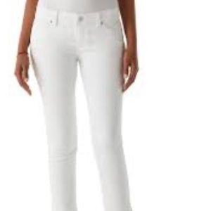 White House Black Market Crop Jean